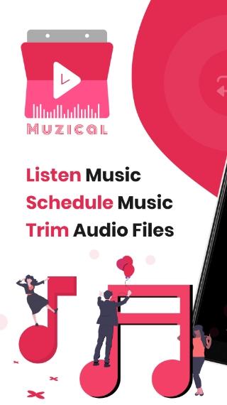 music scheduler app